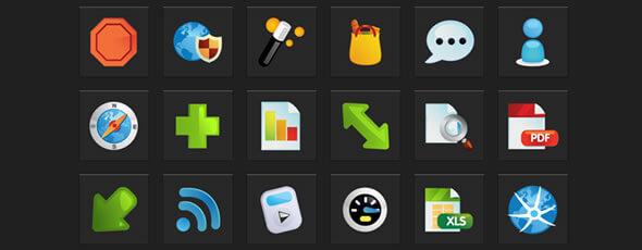 Oh les belles icônes !